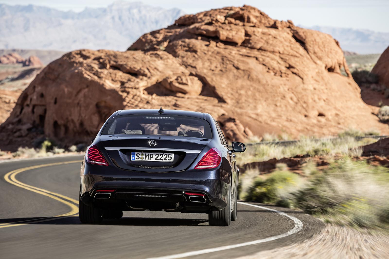 Mercedes S Class 2018 2019 (1)