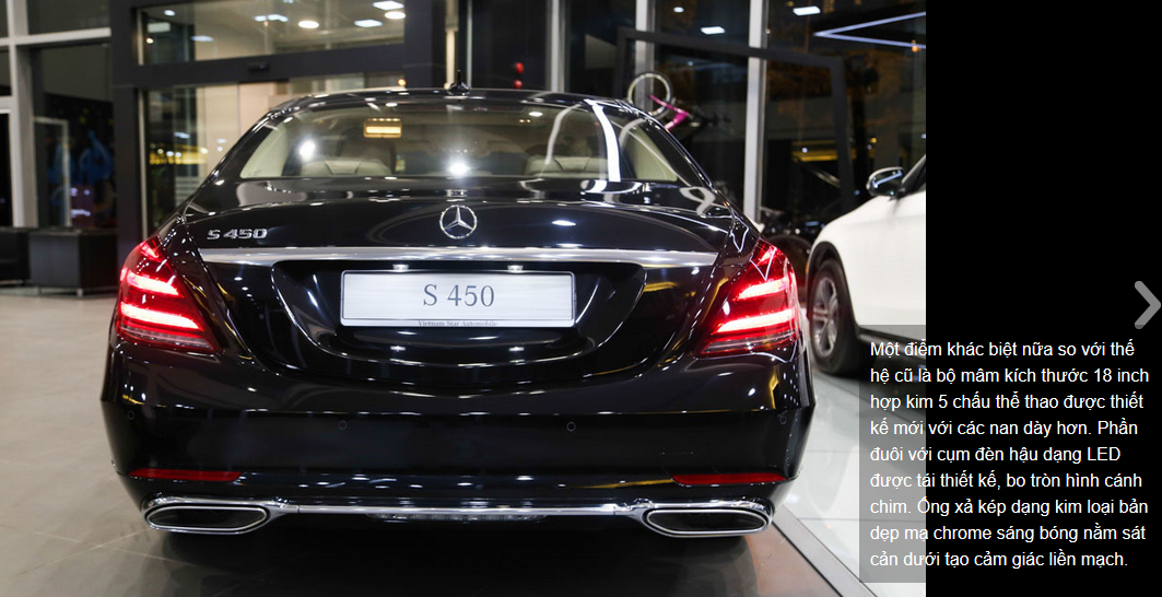 Mercedes S450 va Mercedes S450 luxury (1)