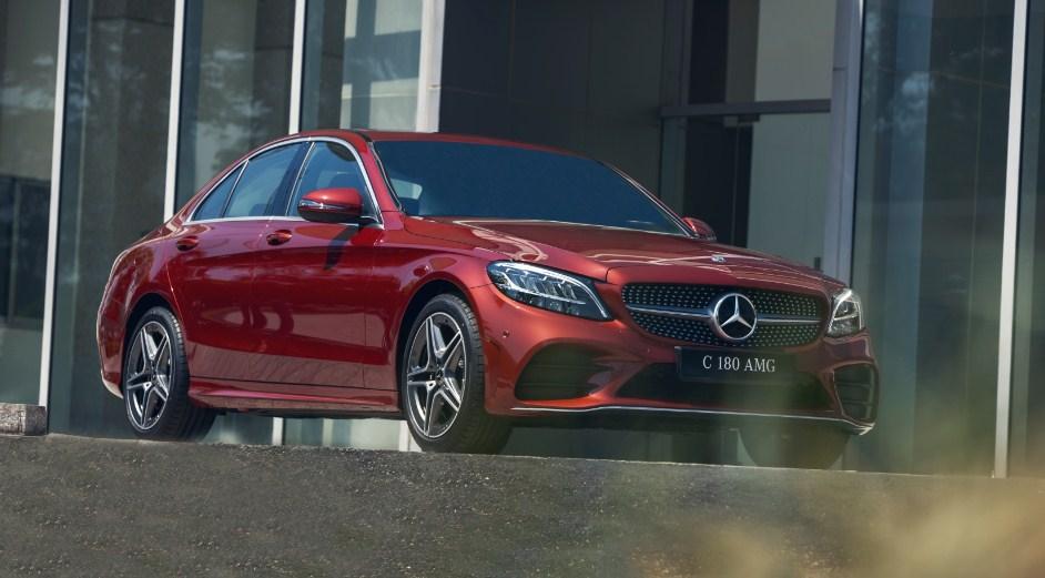Mercedes C180 AMG 2021 (1)