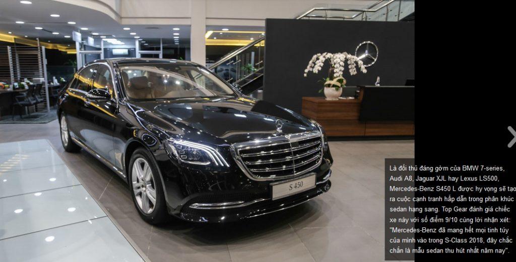 Mercedes S450 va Mercedes S450 luxury (1)